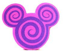 Disney Parks Mickey Mouse Pink/Purple Spiral Antenna Topper (Comes Sealed) - Disney Parks Exclusive & Limited Availability