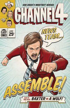 News Team... Assemble! by *AdamLimbert on deviantART