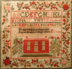 Tennessee Sampler Survey : Exhibit: 1853 Sarah Ann Cator