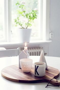 simple and clean centerpiece