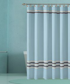 Take A Look At This Aqua Trinity Hotel Shower Curtain By Duck River Textile  On #