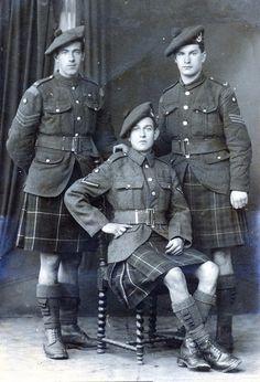 Seaforth Highlanders.