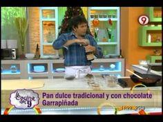 ▶ Pan dulce tradicional y con chocolate Garrapiñada en La Cocina del 9 - YouTube