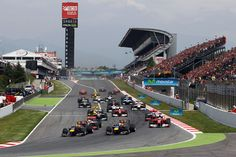 Formula one Grand Prix of Spain - Circuit de Catalunya Barcelona 2018, Barcelona Sports, Barcelona Spain, Spanish Grand Prix, Famous Sports, Ferrari F1, Travelogue, Formula One, World Championship