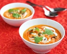 Carrot and Coriander Soup Recipe - Delia Smith - 50 Women Game Changers In Food - Jeanette's Healthy Living