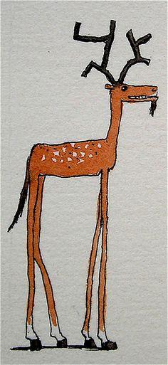 Art - Deer cuteness alert