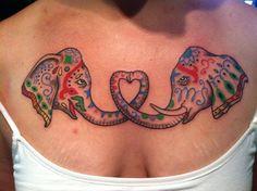 Love this elephant tattoo!