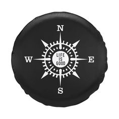 Life Is Good Compass Tire Cover by Life is good