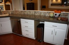Quick Install of Concrete Countertops!Submitted by Cassie of Design Stocker I had to share what Cassie had to say about the kitchen in her email: Hi there! I really wanted to send you my kitchen re…
