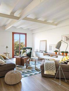 Jurnal de design interior: Motive geometrice într-un apartament de 78 m² din Barcelona