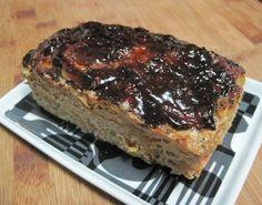 Turkey Vegetable Meatloaf with Balsamic Glaze