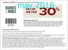 Printable Coupons: Barnes and Noble Coupons