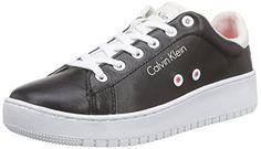 Calvin Klein Jeans FLASH BABY CALF, Damen Sneakers, Schwarz (BLK), 38 EU - http://uhr.haus/calvin-klein-jeans/calvin-klein-jeans-flash-baby-calf-damen-sneakers-2