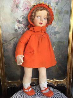 All original clean beautiful lenci serie 500 in wonderful felt outfit. Dress And…
