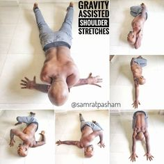 Gravity Assisted Shoulder Stretches #Yogabenefits - All About Fitness, Healthy Foods, Sports Activities | Fitness Magazine
