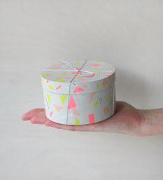 WASHI TAPE BOX DIY