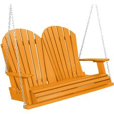 Heritage Poly Lumber 4.5ft Porch Swing by Little Cottage Company