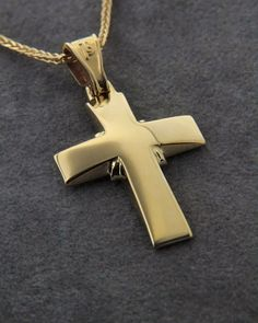 Σταυρός χρυσός Κ9 Symbols, Jewelry, Crosses, Summer Outfits, Jewellery Making, Jewerly, Jewelery, Icons, The Cross