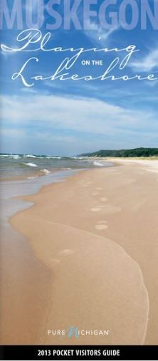 Lake Michigan at Muskegon... This beach is where I grew up and why I'm a nelipot. (Look it up)