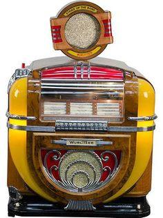 Jukebox de Table - Wurlitzer - Modèle 71 - Sans Sous Meuble - 1940-41