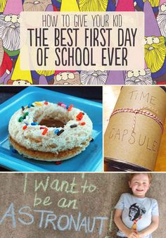 How To Give Your Kid The Best First Day Of School Ever  #kids #school
