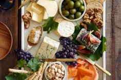 How to Assemble the Perfect Fall Cheese BoardNone