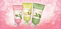 Mascarillas faciales con ingredientes naturales/ Gel Hidratante Té blanco Exfoliante Peel-off con Jazmín Purificante con Bardana y Arcilla   7.95€/unid