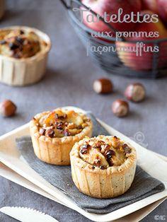 Alter Gusto   Tartelettes aux pommes comme des muffins -