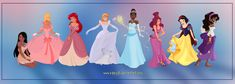 Here we go again with a group shot of some of the Disney girls we all love They are taken from different artwors of my gallery...just thought it could be nice to see them all together For more Chib...