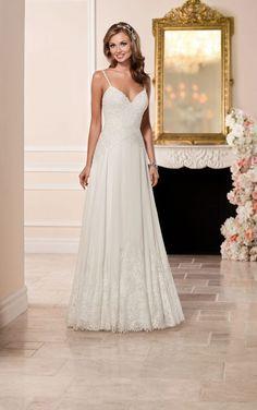 6282 Sexy Lace Wedding Dress by Stella York