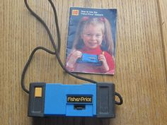 1984 Fisher Price Kodak Camera Ages for 5 Plus  A by LeftoverStuff, $19.00