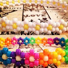 Daisy EDC Headband Multi Colors by BelovedDelusion on Etsy, $7.00