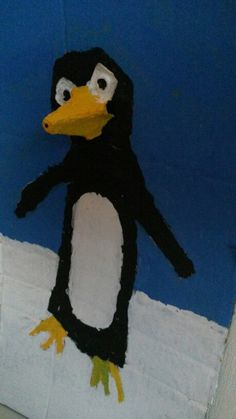 Munakenno kiertää-pingviini