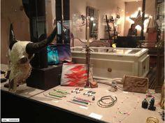 Gachon Pothier jewels at #Hod Boutique  rue Vieille du temple Paris, France