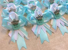 12 Inspired Tiffany U0026 Co Guest Pins For Baby Shower By Marshmallowfavors On  Etsy Https: