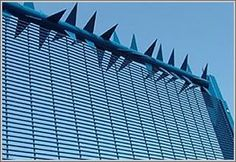 Anti climb wall spikes and rotary anti climb spike barrier kindersicher Barbed Wire Fencing, Fence Gate, Fences, Boundary Walls, Porches, Protecting Your Home, Villa, Shipping Container Homes, Modern Landscaping