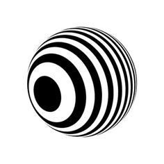 Bees & Bombs Roulette by . Monochrome Pattern, Hip Hop Art, Graphic Wallpaper, Paper Artwork, Art Nouveau Design, Illusion Art, Motion Design, Images Gif, Optical Illusions