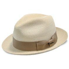 58f863672495d Aston - Stetson Panama Straw Fedora Hat   Fashionable Hats Fedora Hat  Women