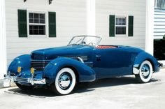 Cord convertible 1930s