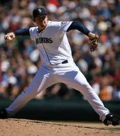 Closer JJ Putz.  For one season he was the best closer in MLB and he was in an M's uniform when that happened.