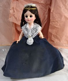 "Madame Alexander - First Lady Series II - Angelica Van Buren #1508 14"" w/ Orig. Box"