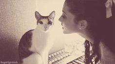 """The cats like """" I have a girlfriend.... """""""