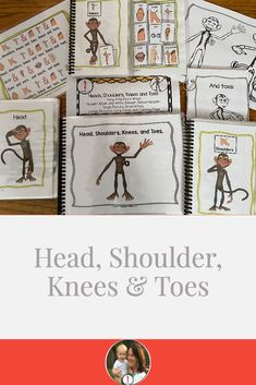 Circle Time Fun Song, Head, Shoulder, Knees and Toes Adapted 6 Ways Receptive Language, Speech Language Pathology, Speech And Language, First Grade, Second Grade, School Songs, Fun Songs, English Language Learners, Preschool Lessons