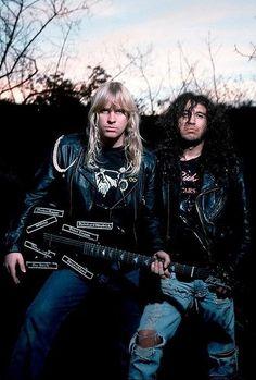 Jeff Hanneman & Tom Araya - Slayer.