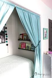 turn a closet into a bed nook - Google Search