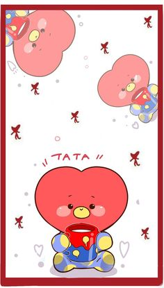 Take care of your heart find someone that love you like you love me Kawaii Wallpaper, Bts Wallpaper, Wallpaper Backgrounds, Bts Taehyung, Bts Bangtan Boy, Jhope, Fanart Bts, Line Friends, Bts Drawings