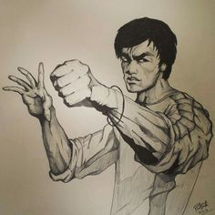 Bruce lee. Bruce Lee, Artwork, Art Work, Work Of Art, Auguste Rodin Artwork
