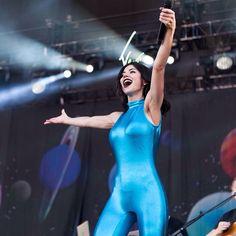 Marina and the diamonds at Osheaga