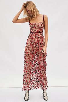 Beatrice Strappy Maxi Dress from Free People! Pastel Color Dress, Best Wedding Guest Dresses, Wedding Guest Style, What To Wear To A Wedding As A Guest, Boho Wedding Guest Dress, Casual Wedding Outfit Guest, Floral Wedding, Dresses To Wear To A Wedding, Strappy Maxi Dress