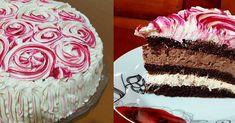 Τούρτα πραλίνα – καραμέλα Greek Desserts, Greek Recipes, Vanilla Cake, Party Time, Sweets, Sugar, Salt, Food, Cakes